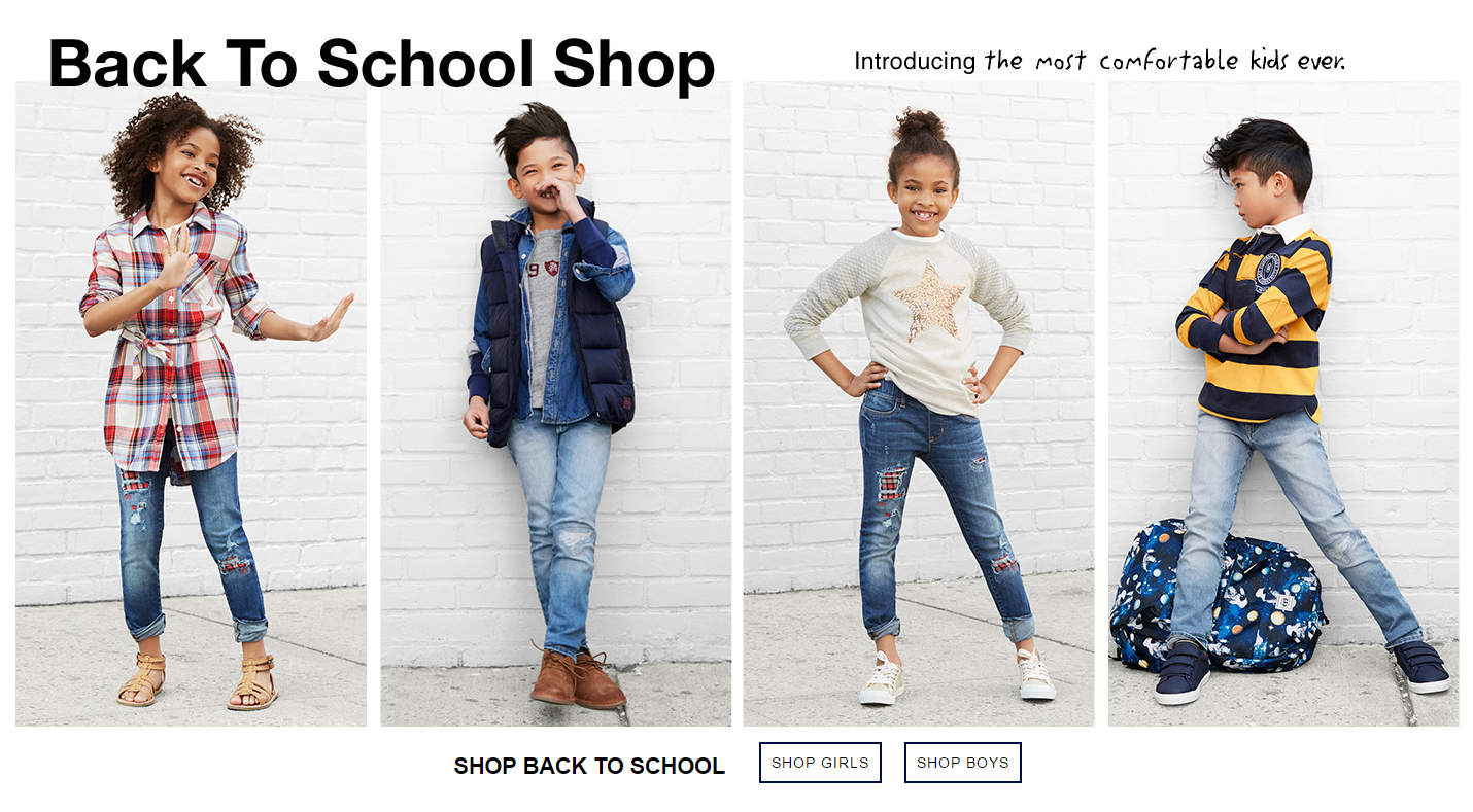 Gap - Back to School