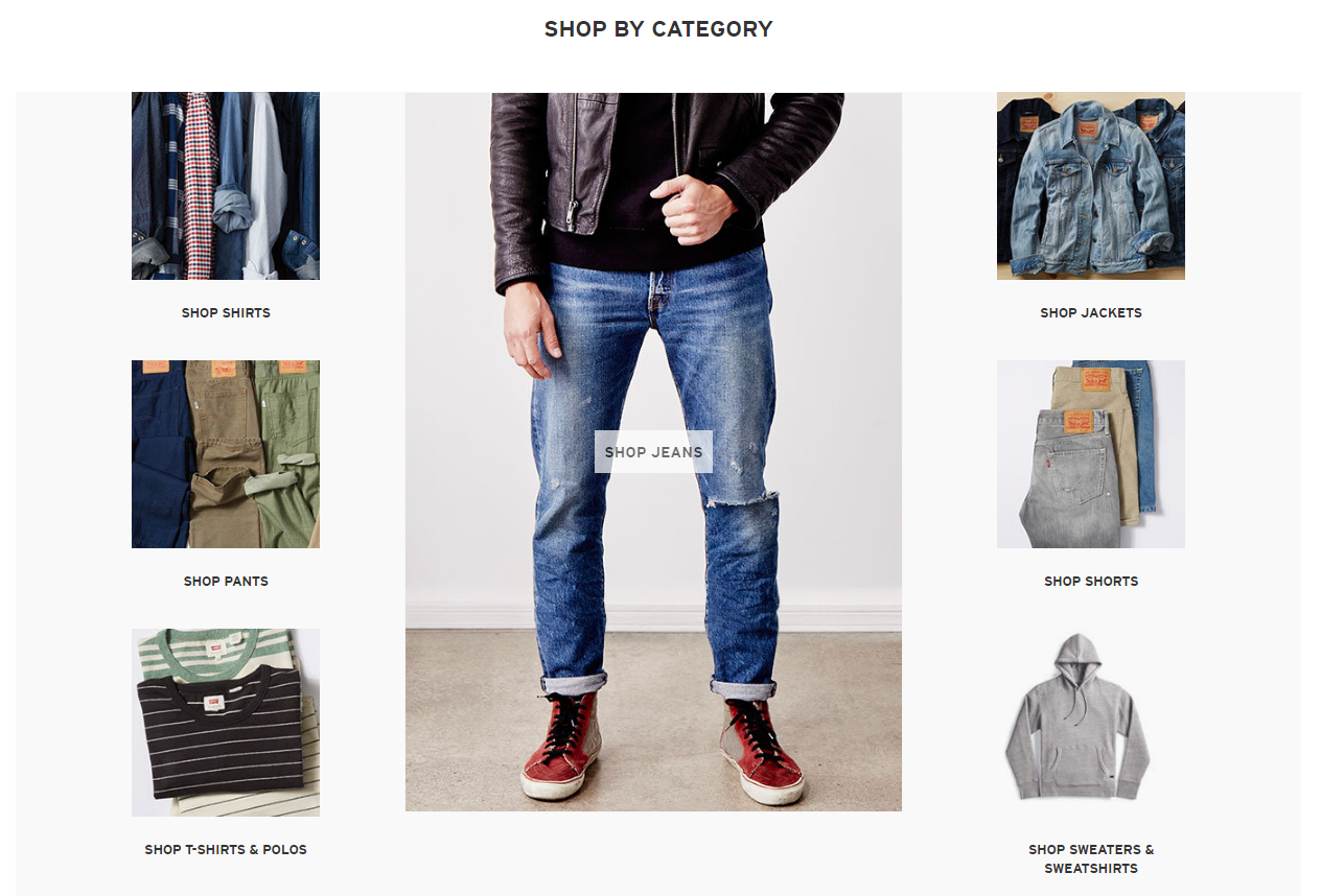 Levi - Shop by Category