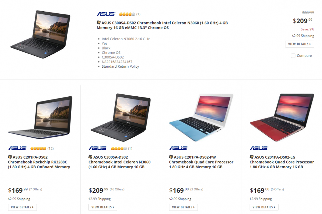 NewEgg Home Page